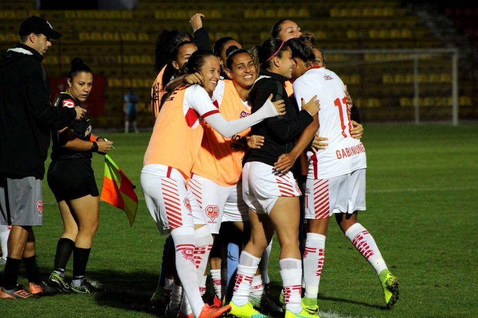Meninas do Audax comemoram vaga na final da Copa do Brasil feminina