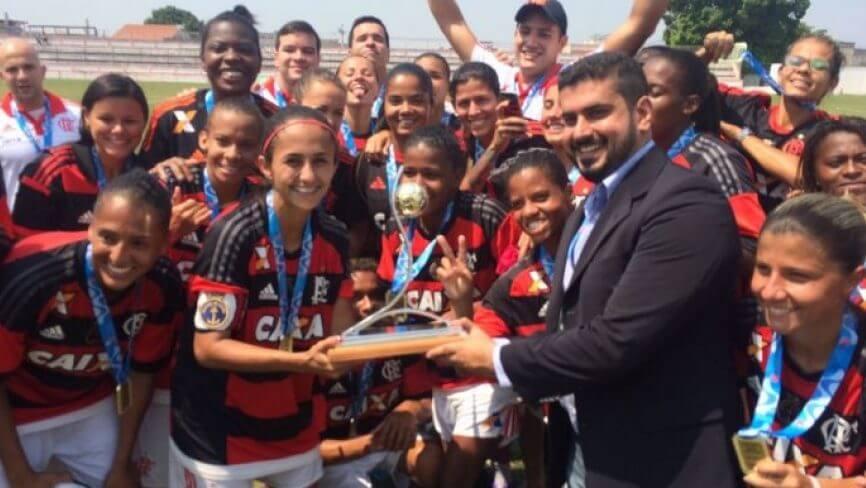 Flamengo vence Vasco no Carioca de Futebol Feminino 2016
