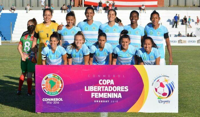 Foz Cataratas fica em terceiro na Libertadores Feminina 2016