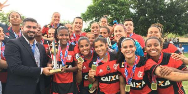 Flamengo é tricampeão Carioca - FERJ