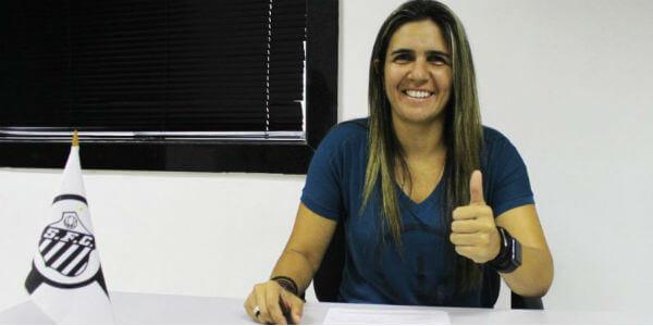 Emily Lima é nova treinadora do Santos FC
