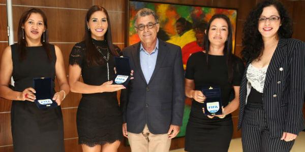 Brasileiras integram quadro FIFA 2018