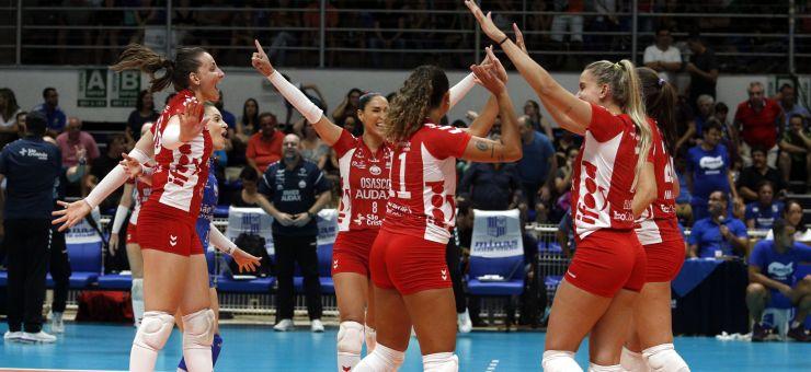 Osasco vence Minas vôlei feminino 2020